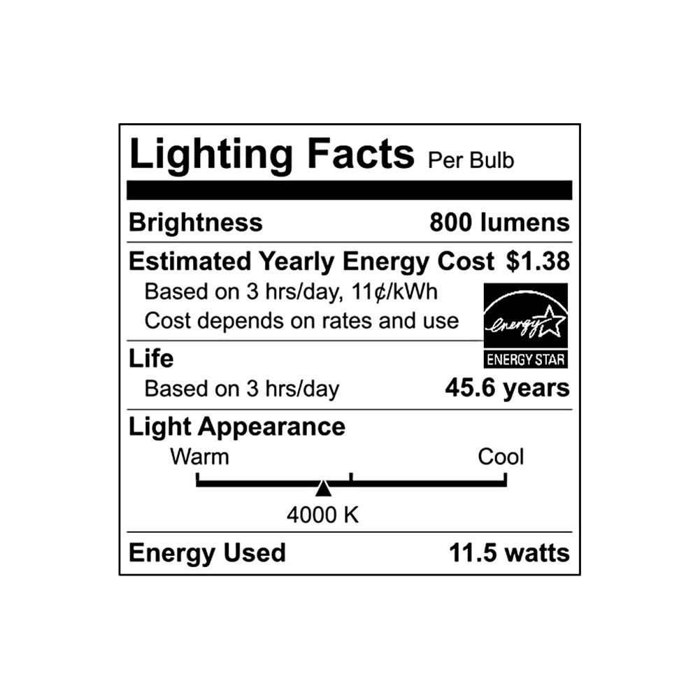 Euri Lighting EIN-CL07WH-2040e 7 Round LED Ceiling Light with White Bezel 4000K